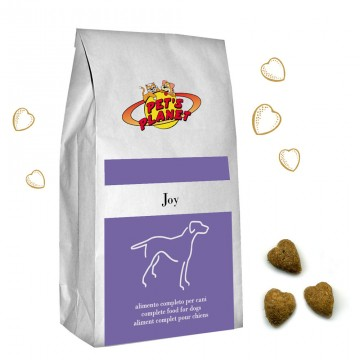 JOY - Croquettes pour chiens - Aliment toujours frais pour chiots et chiens adultes de petite taile - Conditionnement 4 Kg