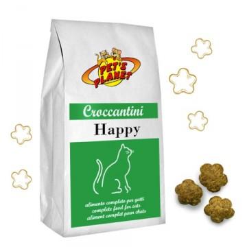 HAPPY Croccantini, anche per gatti sterilizzati - confez. 12kg
