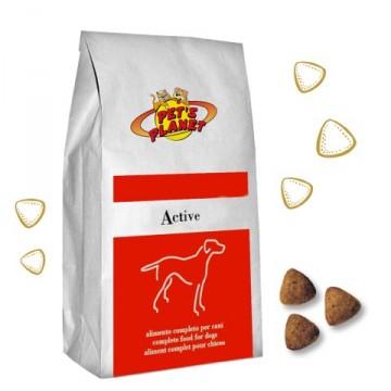 Active Crocchette - Alimento per cani adulti di taglia grande molto attivi - prodotto in Italia - confez. 12kg