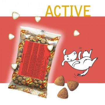 Active - Croquettes pour chiens - Single Pack - En voyage, dans le sac, toujours avec soi!