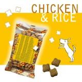 CHICKEN & RICE Crocchette per Cani - Single Pack. In viaggio, in borsa, sempre con te!
