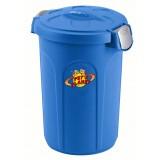 Container protège-fraîcheur MOYEN - pour maintenir fraiches et parfumés les croquettes. Indiqué aux sachet petits et moyens