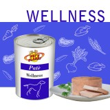 """WELLNESS Pâté pour Chiens – Formule Bien-être, avec ingrédients naturellement riches de """"Vitamine antistress"""""""