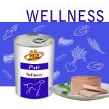 """WELLNESS Paté per Cani - Formula Benessere, con ingredienti naturalmente ricchi di """"vitamine antistress"""""""