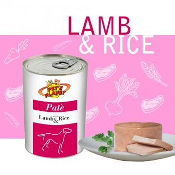 Lamb & Rice Paté per Cani - Ipoallergenico, di qualitàsuperiore