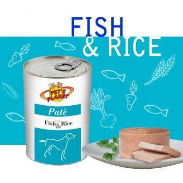 Fish & Rice Paté per cani - Ipoallergenico