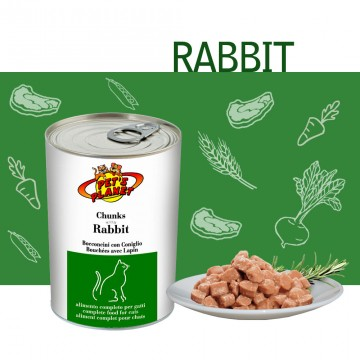 Bocconcini cotti al vapore con Coniglio (Chunks with Rabbit)