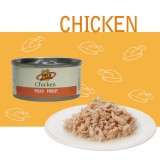 NATURAL CHICKEN IN WATER Filetti di pollo fresco per Cani e Gatti - Alimento naturale cotto a vapore senza aggiunta di additivi