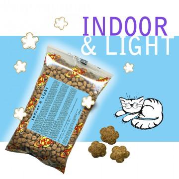 Indoor & Light - Croquettes pour chats - Single Pack - En voyage, dans le sac, toujours avec soi!
