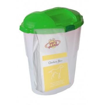 Chicken & Rice Crocchette - Alimento per Cani con Contenitore salvafreschezza maxi - confez. 12kg