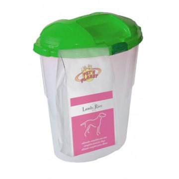 Lamb & Rice Crocchette - Alimento ipoallelrgenico per Cani con Contenitore salvafreschezza maxi - confez. 12kg
