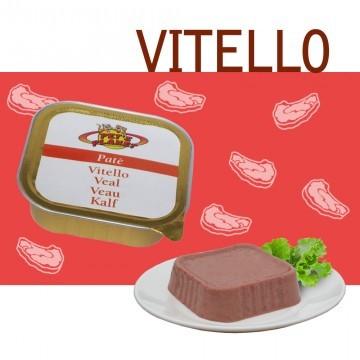 Paté 100% Vitello. Sapore delicato e leggero