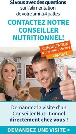 Conseiller Nutritionnel directement chez vous !