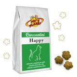 HAPPY Croccantini per tutti i Gatti, anche sterilizzati. Confezione scorta 12 kg