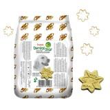 SNACK DENTAL STAR Santé Dentaire pour Chiens - léger et croquant, cuisson au four et aromatisé au thé vert.