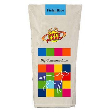 Fish & Rice Crocchette - Alimento per Cani - confez. 20kg