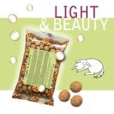LIGHT & BEAUTY Croquettes pour Chiens - Single Pack. En voyage, dans le sac, toujours avec toi!