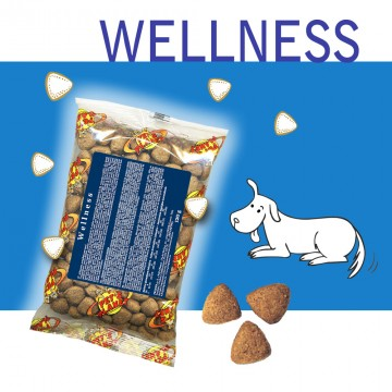 Wellness Crocchette per Cani - Single Pack. In viaggio, in borsa, sempre con te!