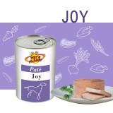 JOY Paté per tutti i Cuccioli e per i Cani adulti di piccola e media taglia- ricco e consistente, appetibile e digeribile