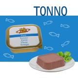 Paté 100% Tonno per Cani e Gatti - Alimento Complementare ipoallergenico dal gusto fresco – Linea Elements