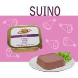Pâté 100% Porc pour Chiens et Chats - Aliment Complémentaire avec viande encore plus tendre et légère - Ligne Eléments