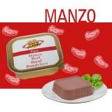 Paté 100% Manzo per Cani e Gatti - Alimento Complementare – gusto ricco e prelibato – Linea Elements