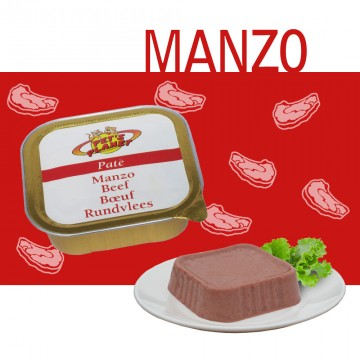 Paté 100% Manzo - gusto ricco e prelibato