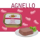 Paté 100% Agnello per Cani e Gatti - Alimento Complementare ipoallergenico. Morbida mousse dal gusto deciso – Linea Elements