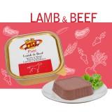 Pâté Lamb & Beef - Pâté Gourmet avec Agneau & Bœuf pour Chiens exigeants