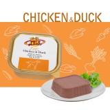 Pâté Chicken & Duck - Pâté Gourmet avec Poulet & Canard pour Chiens du palais délicat