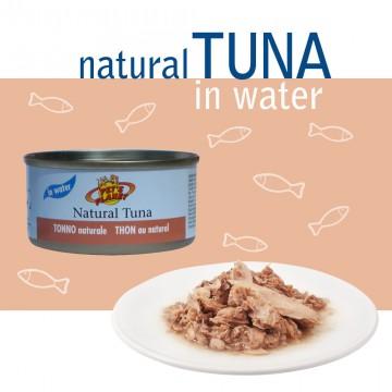 Natural Tuna in Water - Thon au naturel avec jus de cuisson