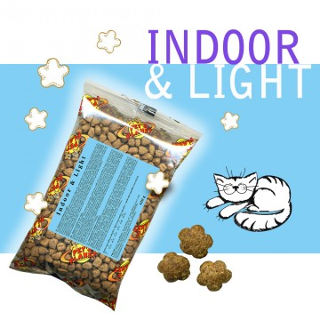 INDOOR & LIGHT Croccantini Single Pack. In viaggio, in borsa, sempre con te!