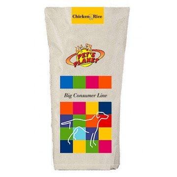 Chicken & Rice Crocchette - Alimento per Cani con pollo fresco - confez. 20kg