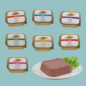 7 giorni: 7 gusti di Paté per variare l'alimentazione del tuo Cane
