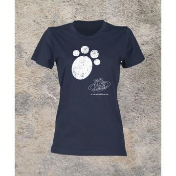 T-shirt donna, girocollo, 100% cotone