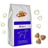 WELLNESS Crocchette per Cani - Alimento 4 kg sempre fresco per Cani di piccola taglia - Formula benessere - prodotto in Itali