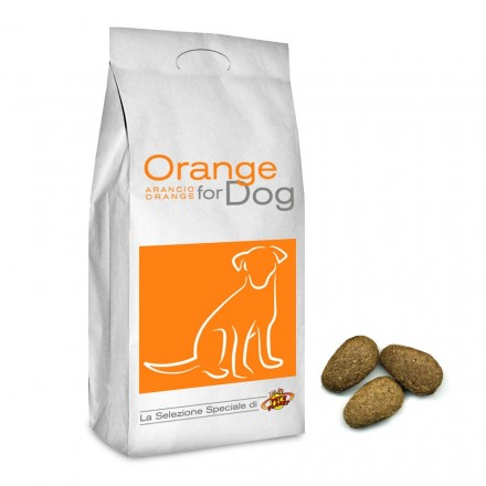 ORANGE for DOG crocchette per tutti i cani, 20 Kg
