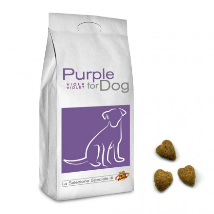 PURPLE for DOG Croquettes de petites dimensions pour chiots et chiens adultes, 20 Kg