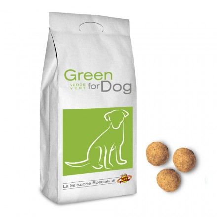 GREEN for DOG crocchette per tutti i cani, 12 Kg