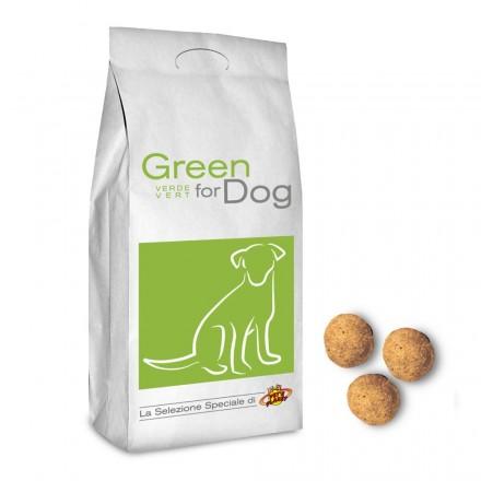 GREEN for DOG Croquettes pour tous les chiens, 12 Kg