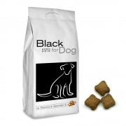 Black for DOG Croquettes pour tous les chiens, 12 Kg