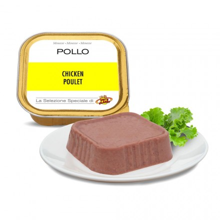 Mousse POLLO per cani, 100 g