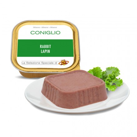 Mousse CONIGLIO per cani, 100 g