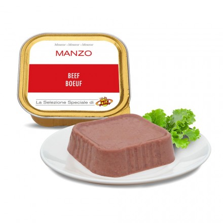 Mousse MANZO per cani, 100 g