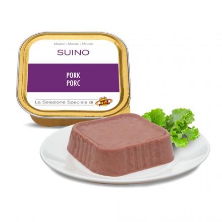 Mousse PORC pour chiens, 100 g