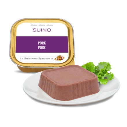 Mousse SUINO per cani, 100 g