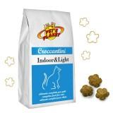 INDOOR & LIGHT Croquettes pour Chats d'intérieur et qui font peu d'activité. Idéal aussi pour chats senior en surpois