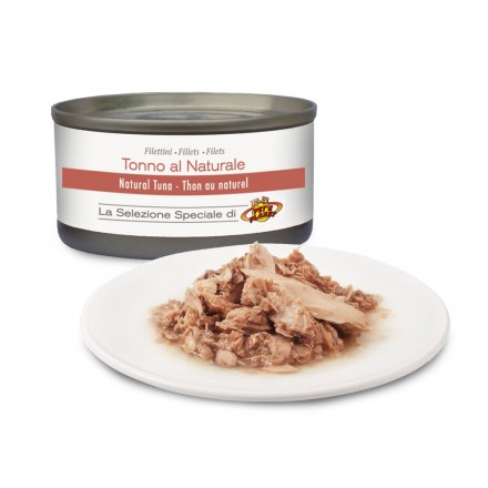 Filettini di TONNO al naturale per cani, 85 g
