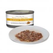Filets de THON au naturel avec MAQUEREAUX pour chiens, 85 g