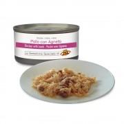 Filets de POULET au naturel avec AGNEAU pour chats, 85 g